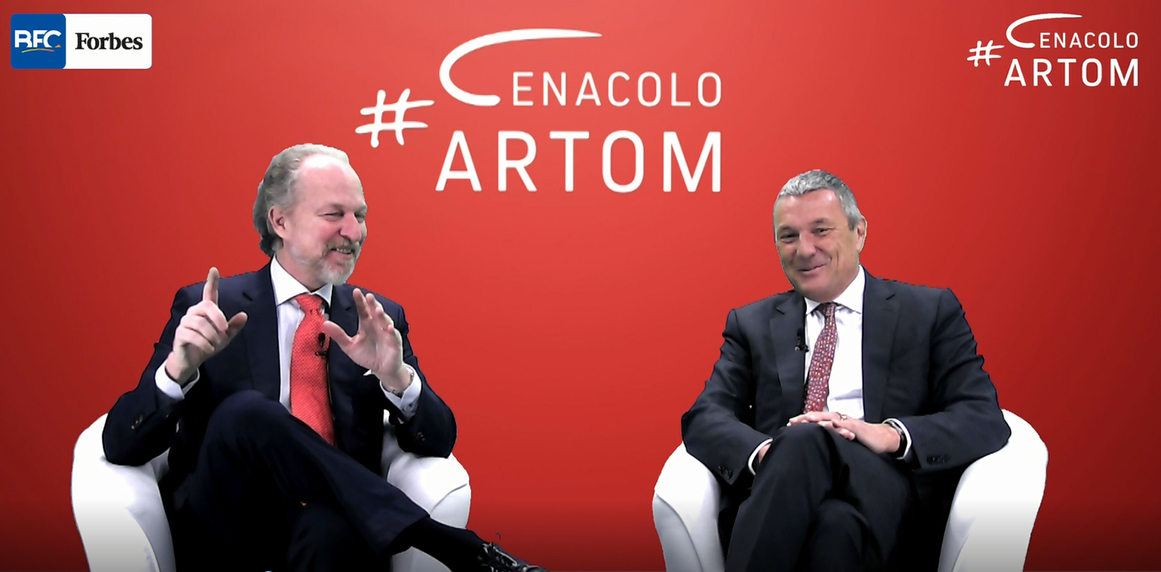 Cenacolo Artom: Arturo Artom incontra Jean Christophe Babin, il ceo di Bulgari