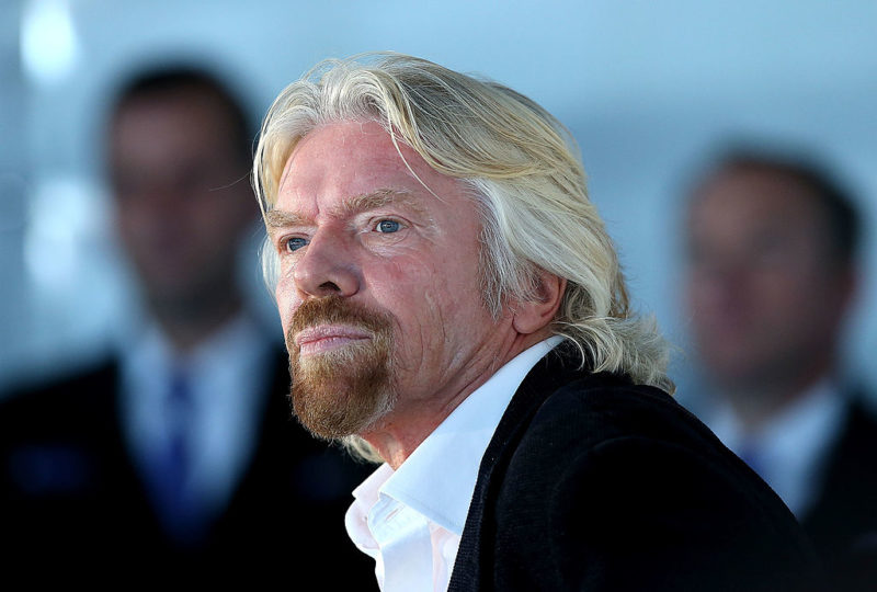 Richard Branson, fondatore di Virgin Group