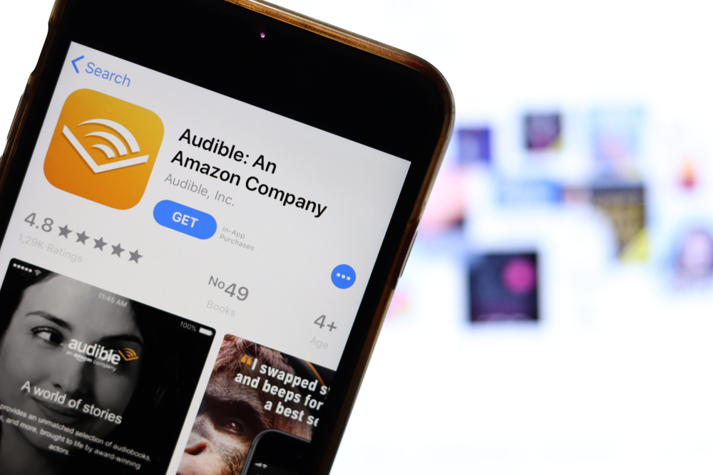 Amazon Audible, audiolibri e podcast