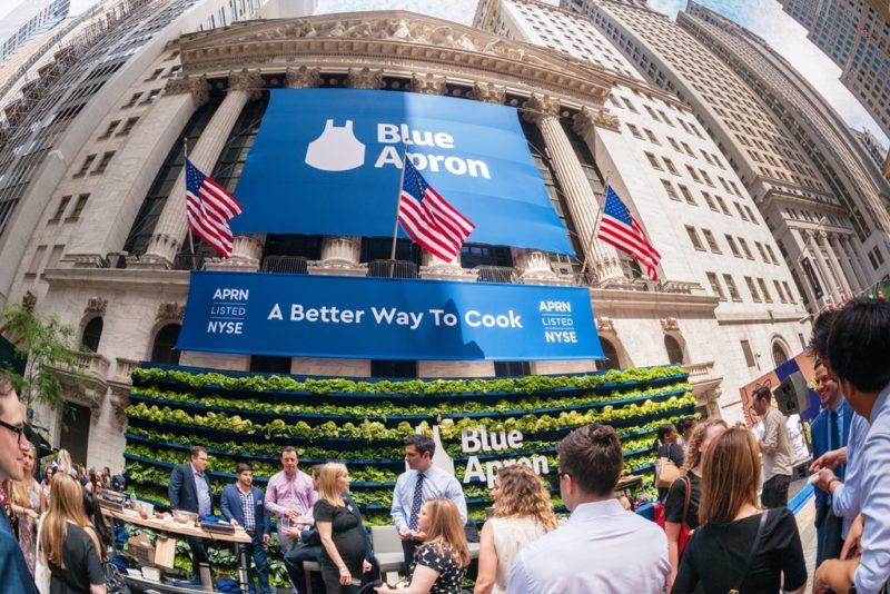 Blue Apron, società americana di meal-kit, l'ultima frontier del food-delivery