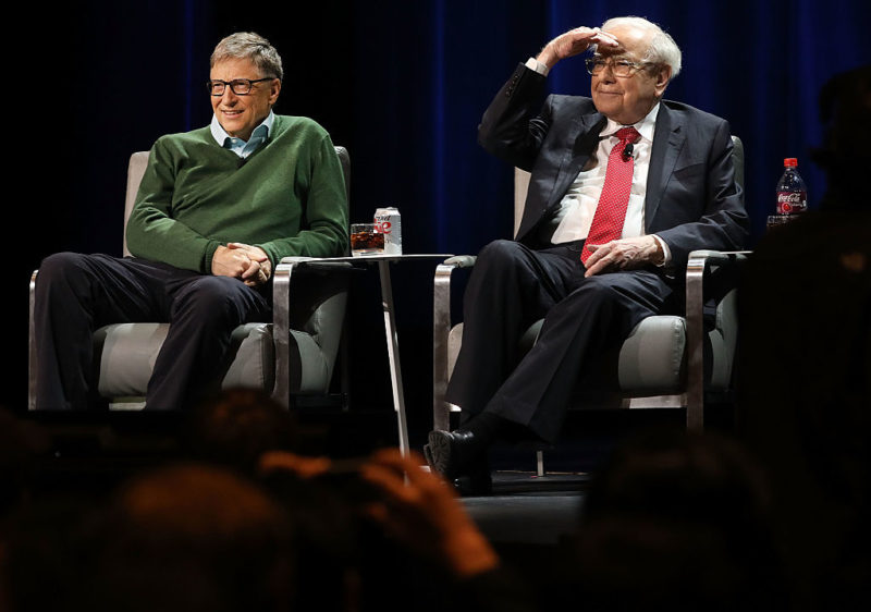 bill gates e warren buffett