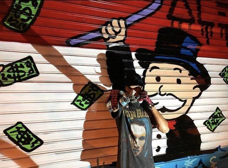 Street art: AlecMonopoly