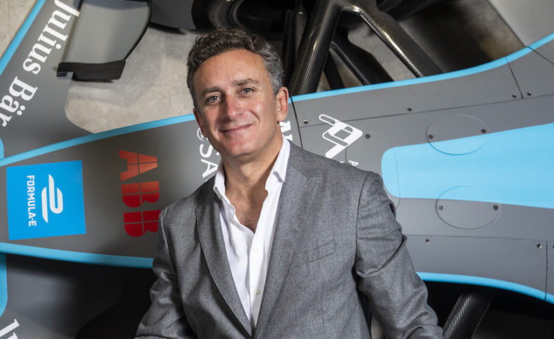 Alejandro Agag, presidente e fondatore Formula E