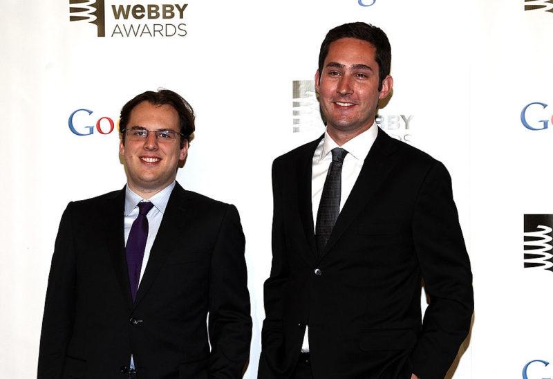 i fondatori di Instagram Kevin Systrom e Mike Krieger