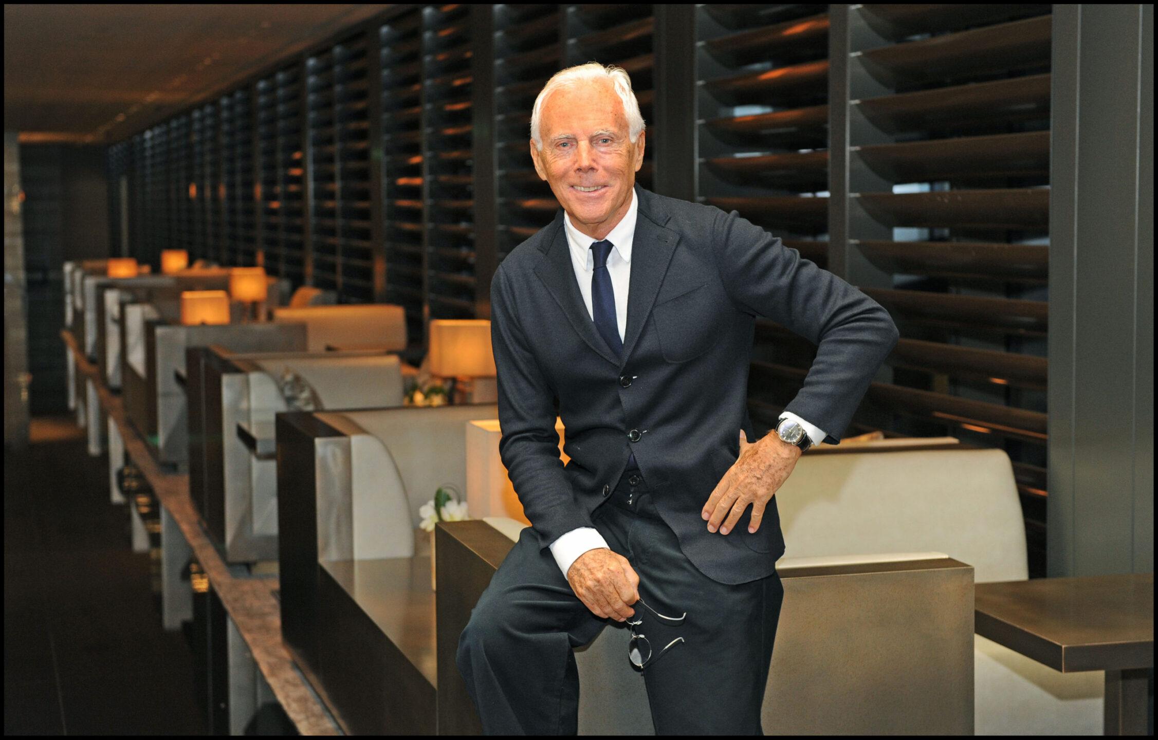 Giorgio Armani moda
