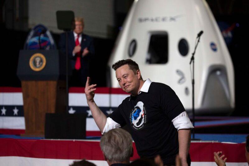 elon musk e spacex viaggi ipersonici