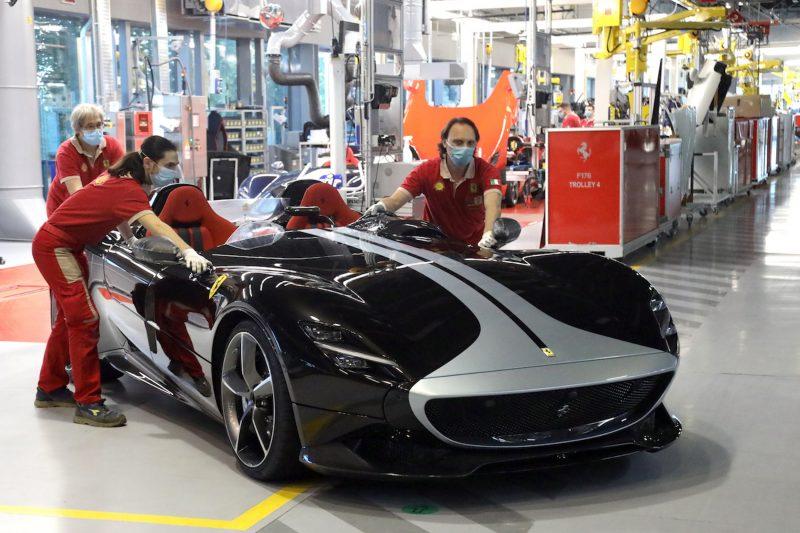 La Ferrari Monza SP2.