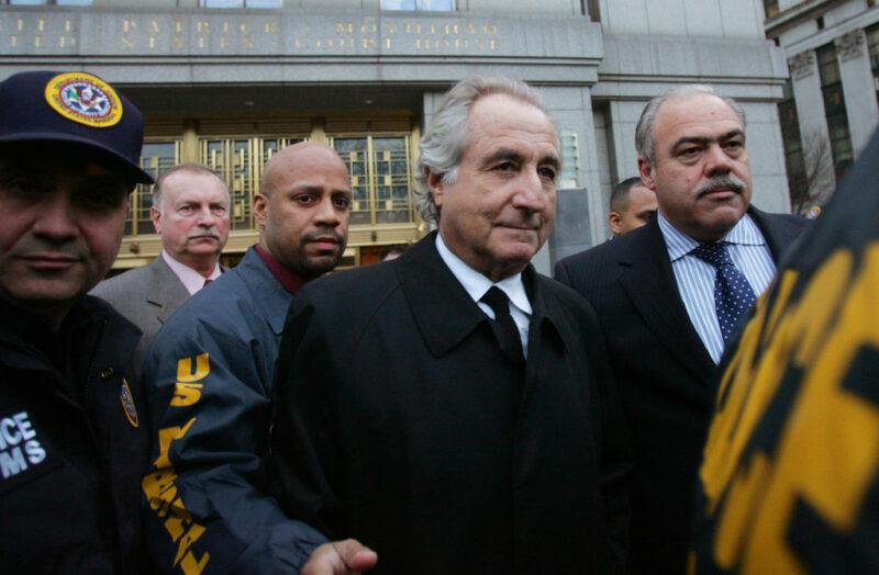 Bernie Madoff, il truffatore finanziario