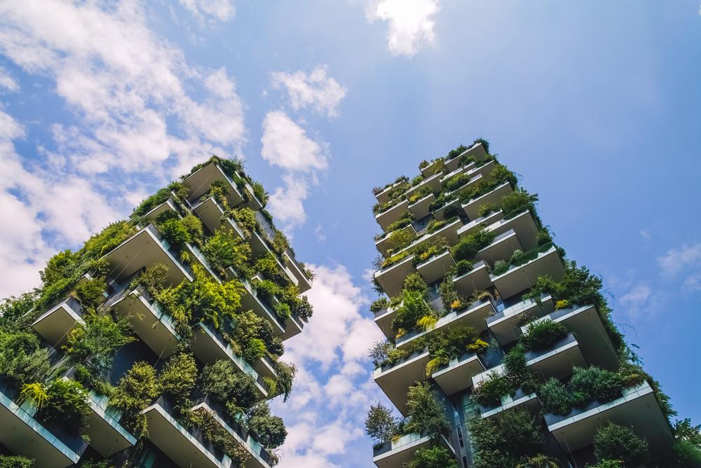 Milano, Bosco verticale - sostenibilità e edilizia green