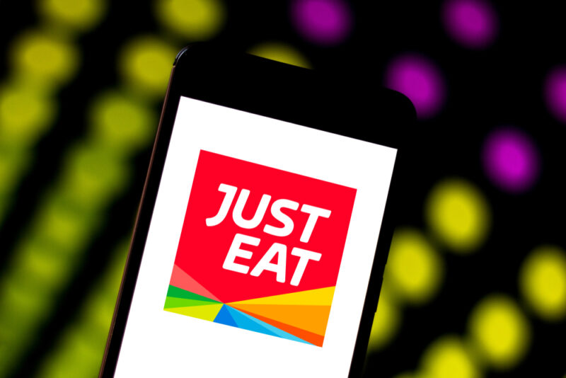 just-eat food delivery