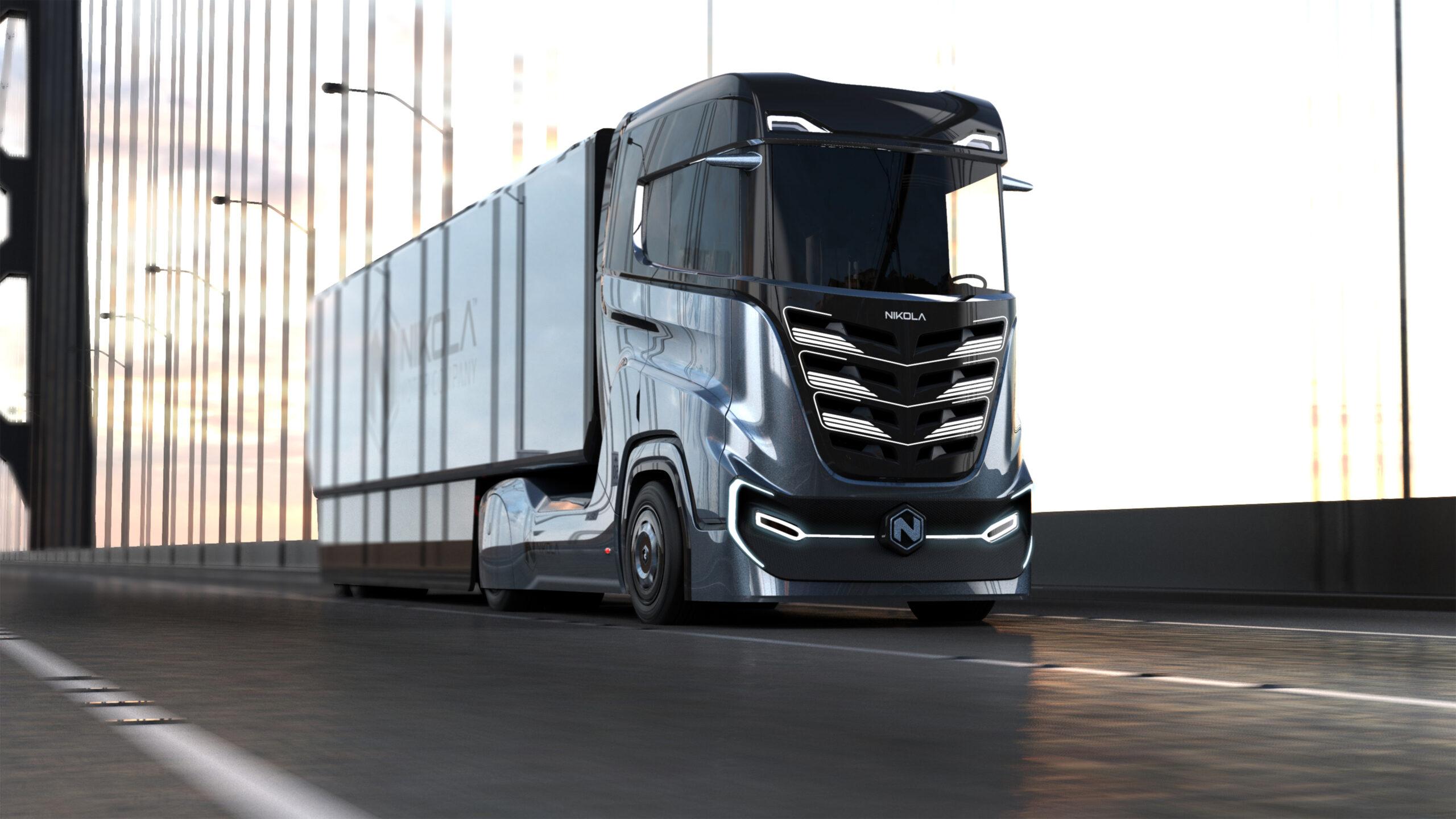 I camion a idrogeno di Nikola oggi a Wall Street. Con un posto per Iveco