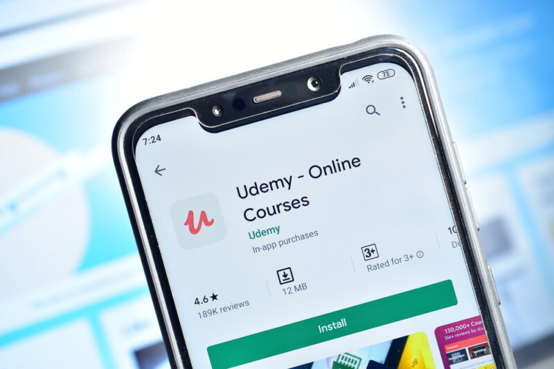 Udemy, corsi online