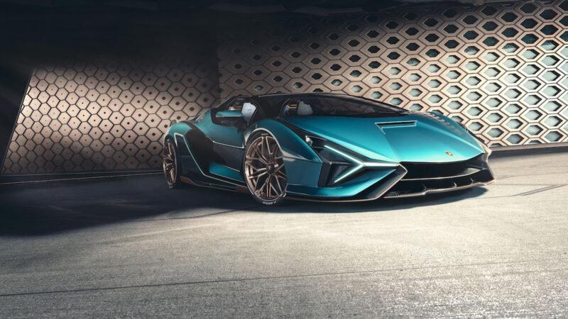 Lamborghini Sián Roadster,