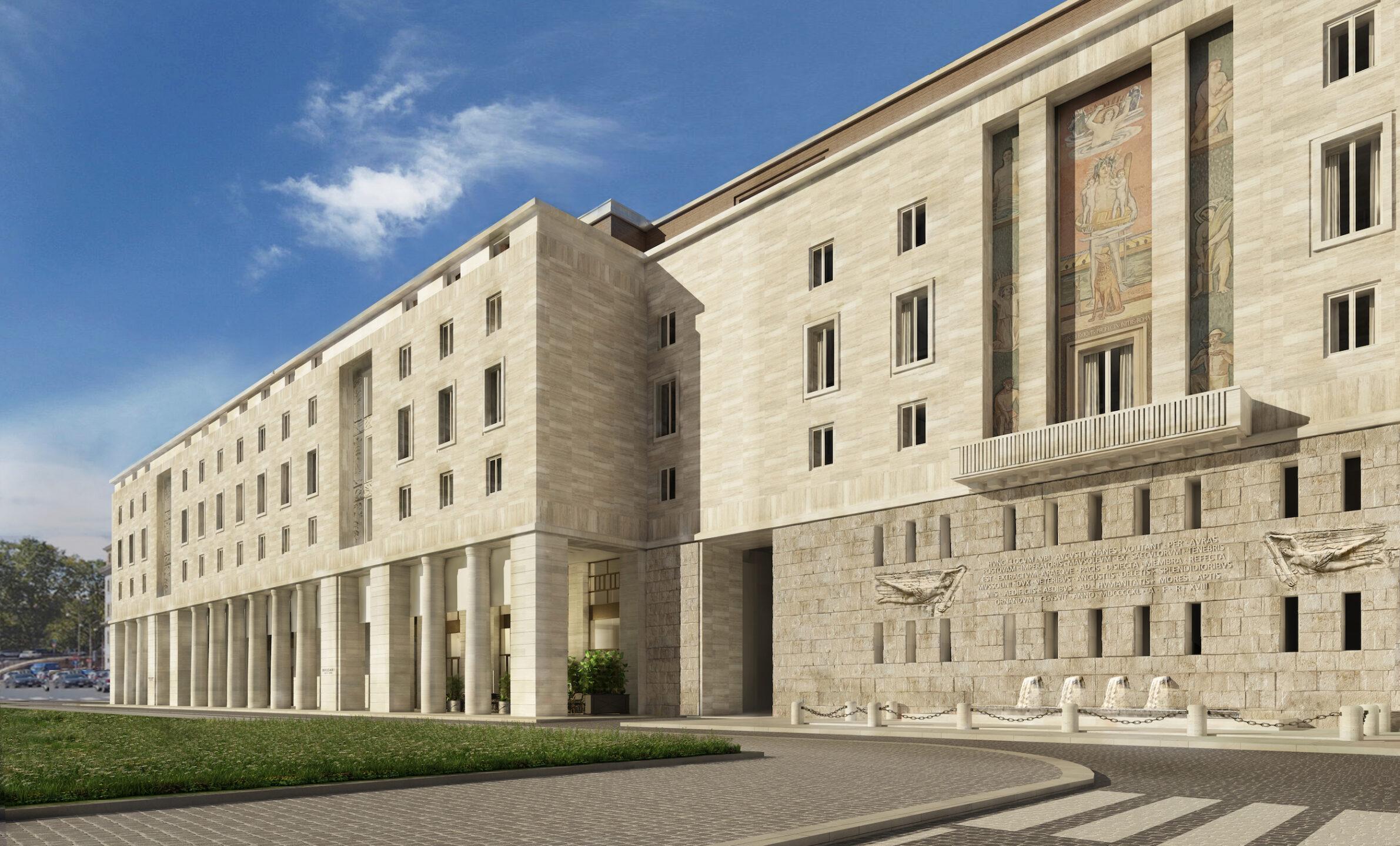 Bulgari Hotel Roma -rendering