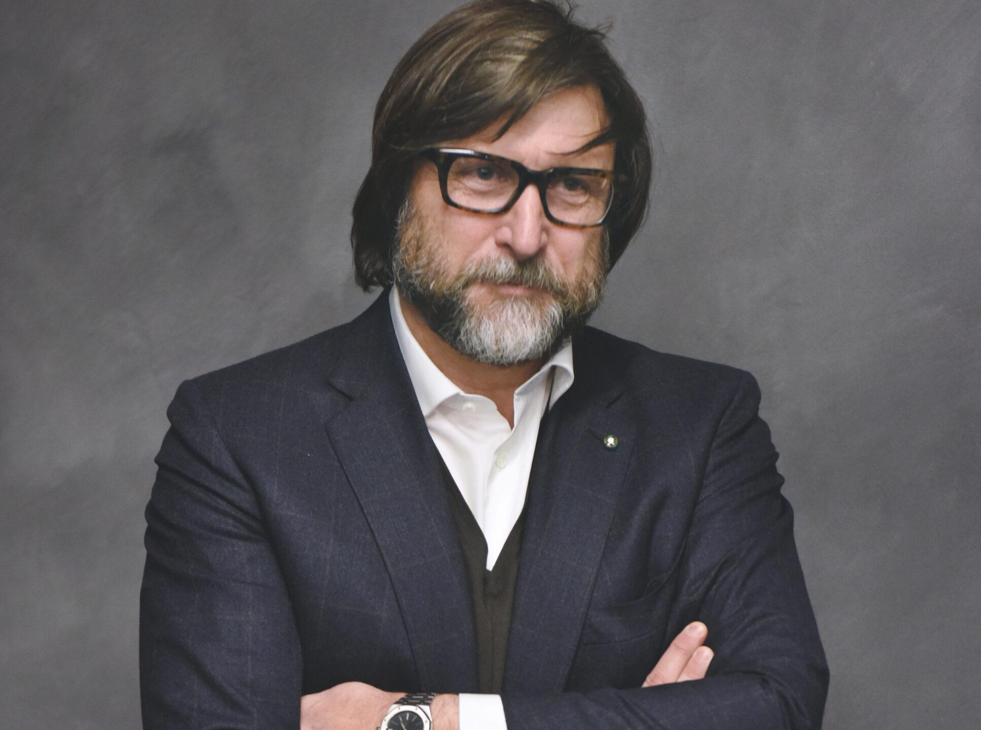 Claudio Marenzi, ceo di Herno e presidente di Pitti Immagine