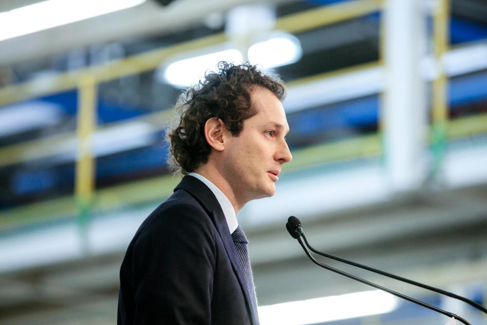 John Elkann - FCA - PSA ora presidente Stellantis