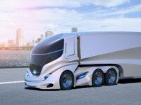Camion robot a guida autonoma