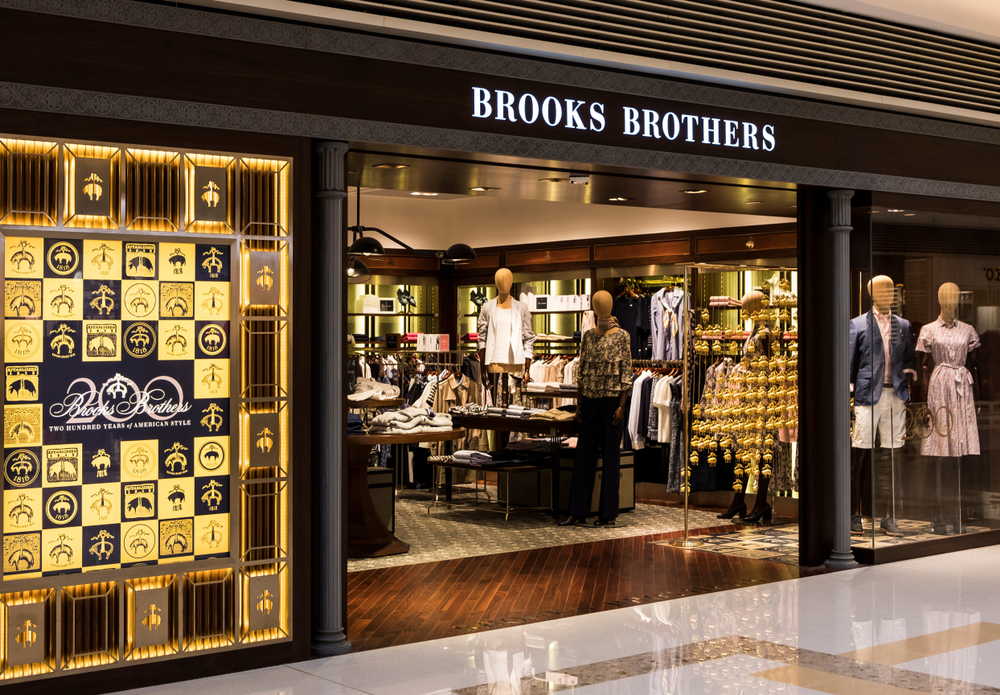 In bancarotta Brooks Brothers, marchio icona di Wall Street