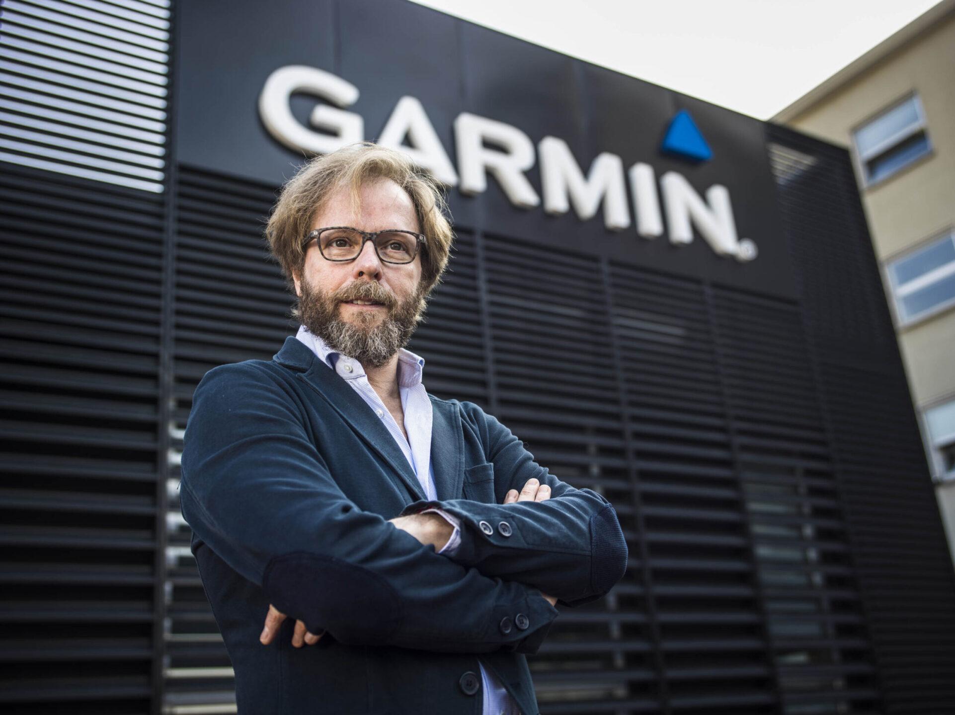 Stefano Viganò, Garmin Italia