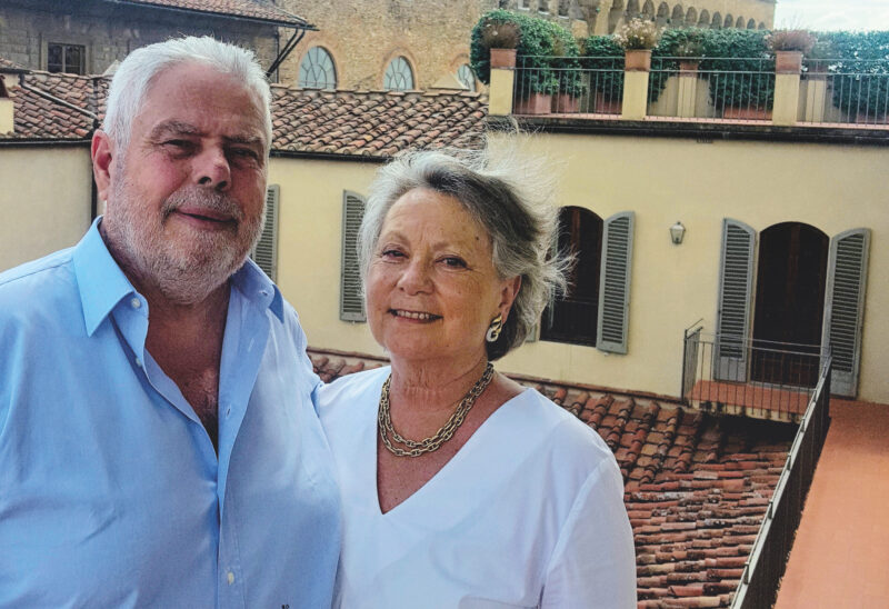 il marchese Bernardo Gondi, custode di quasi 10mila dimore storiche in Italia