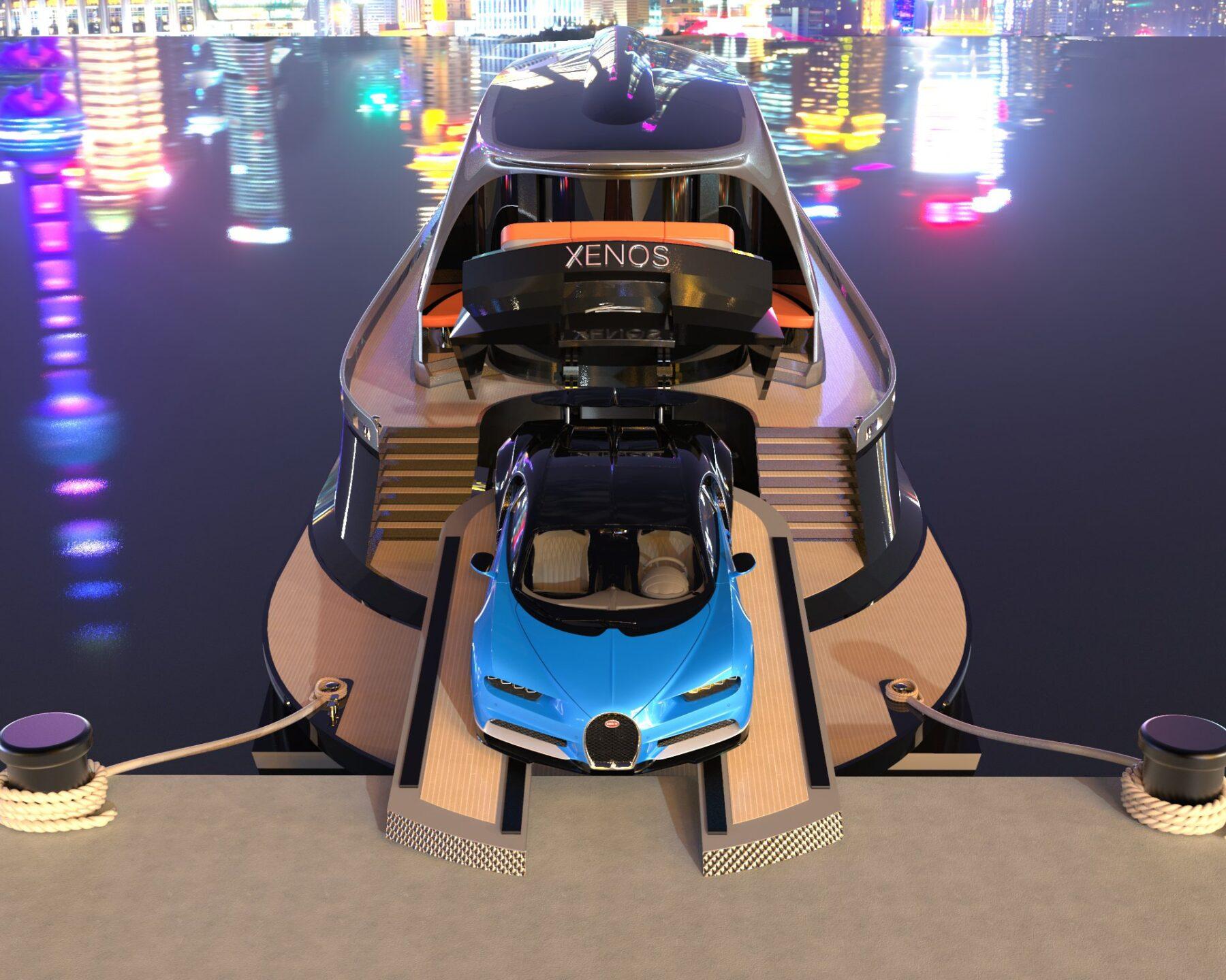 Il superyatch Xenos