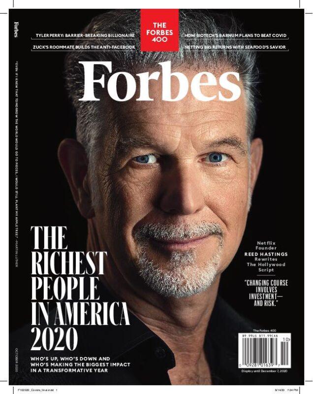 Reed Hastings, il co-fondatore senza pretese e co-ceo di Netflix
