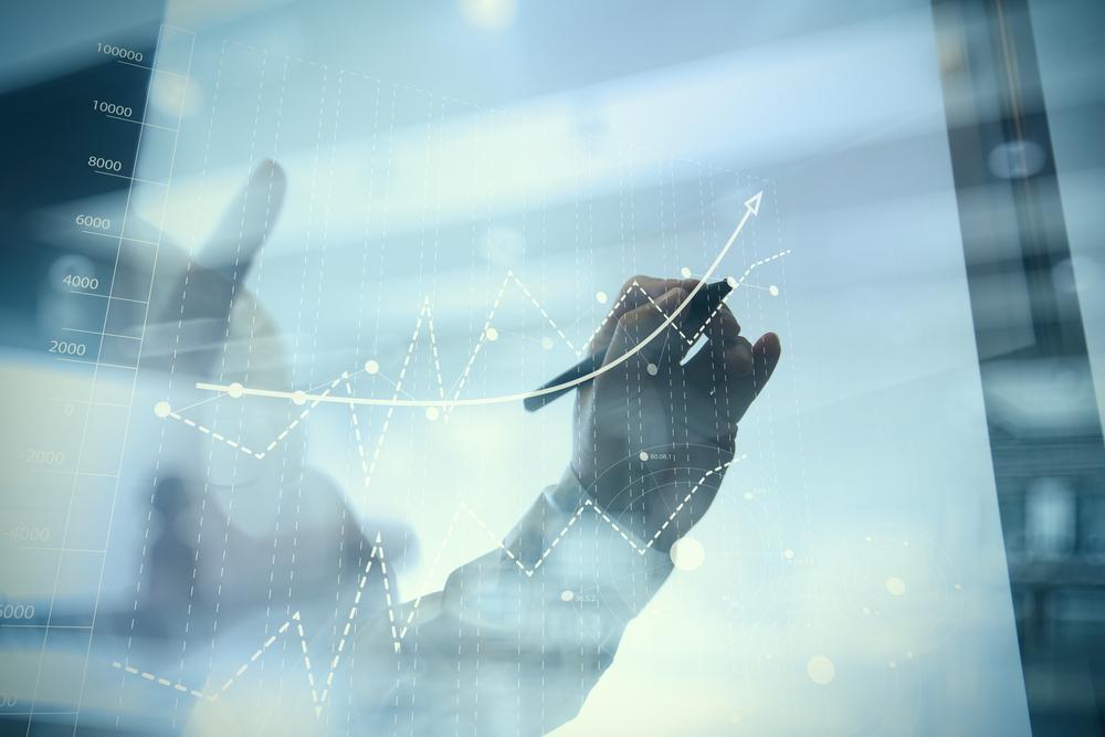 Strategia di business: Manager traccia la business strategy aziendale