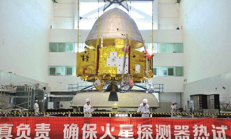 Spazio: Cina e space economy, missione su Marte Tianwen-1