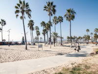 Usa, California, Los Angeles, Venice Beach, Silicon Beach