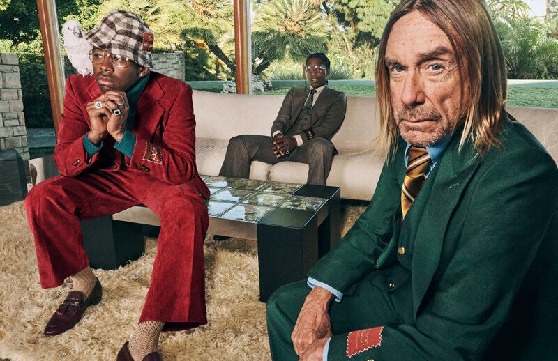 La campagna Men's Tailoring di Gucci