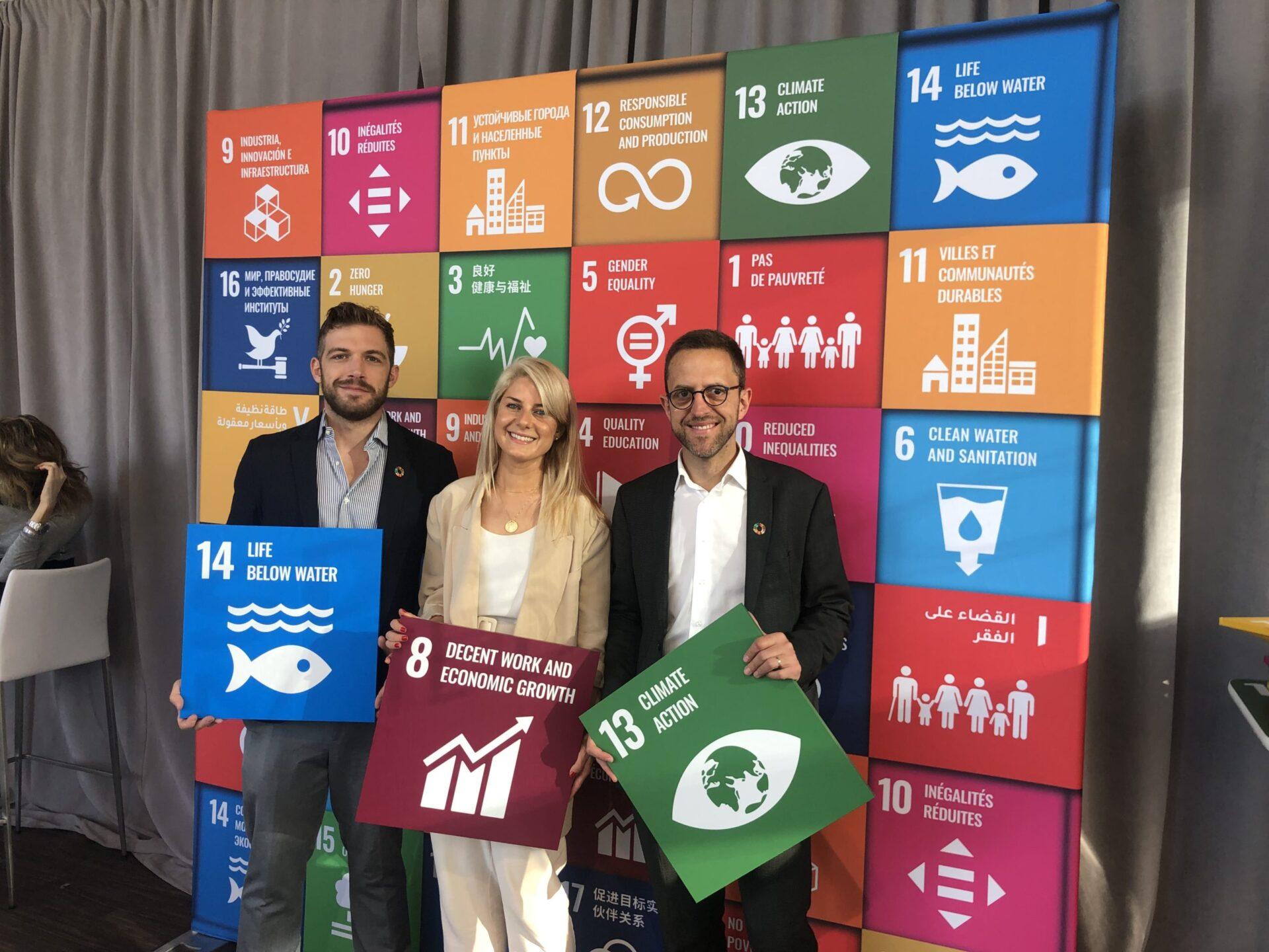 i due fondatori di AWorld, la app che unisce sostenibilità e gamification