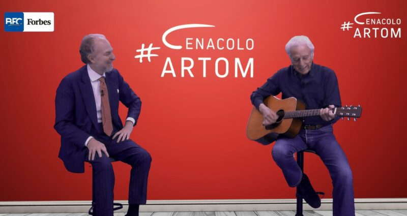 Mario Lavezzi ospite a Cenacolo Artom