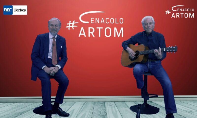 Mario Lavezzi ospite a Cenacolo Artom di Arturo Artom