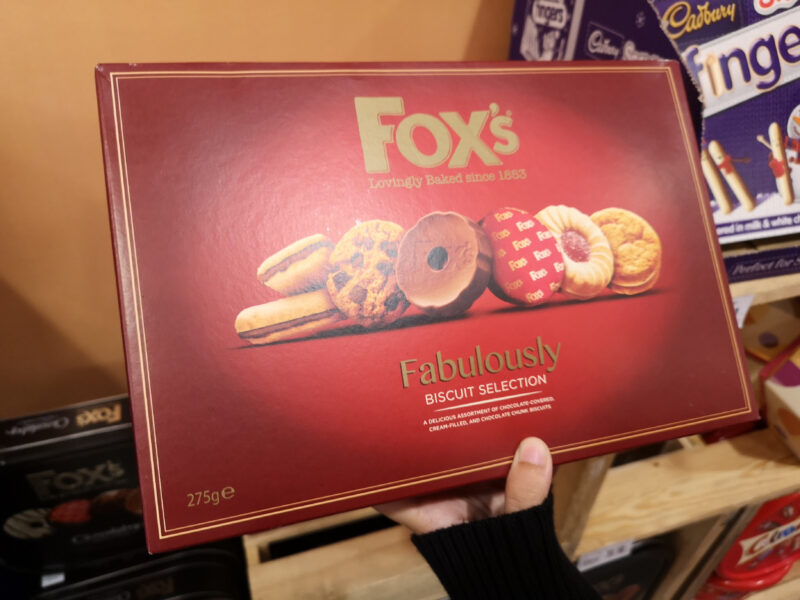 Ferrero acquista i biscotti fox's