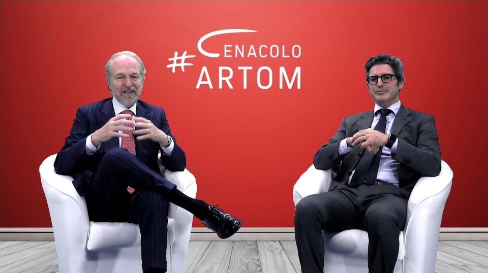 Cenacolo Artom: Arturo e William Fabbro