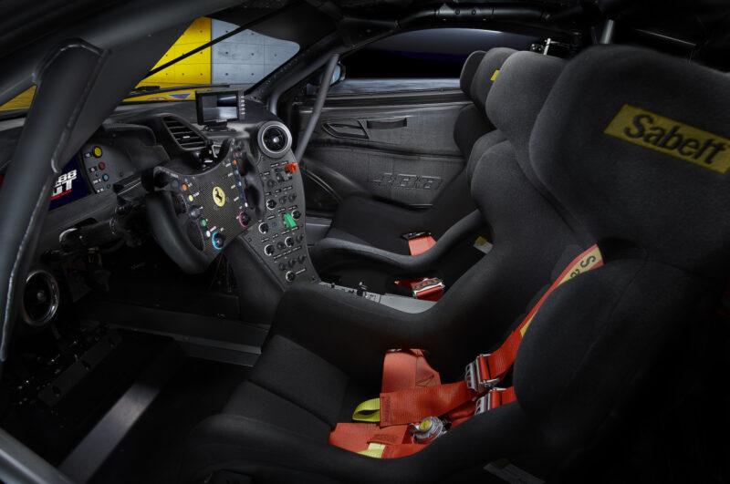 interni Ferrari - 488 GT Modificata
