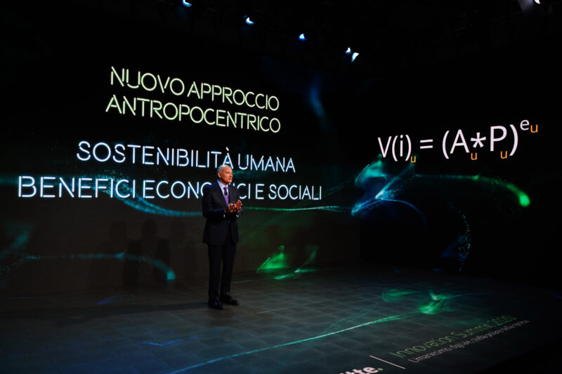 innovation summit di deloitte, andrea poggi parola al governo