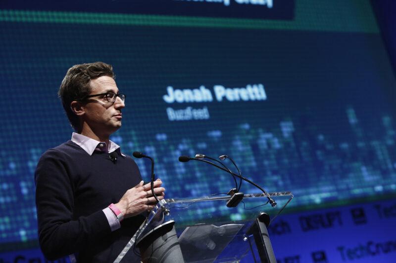 Jonah Peretti, ceo e fondatore di Buzzfeed