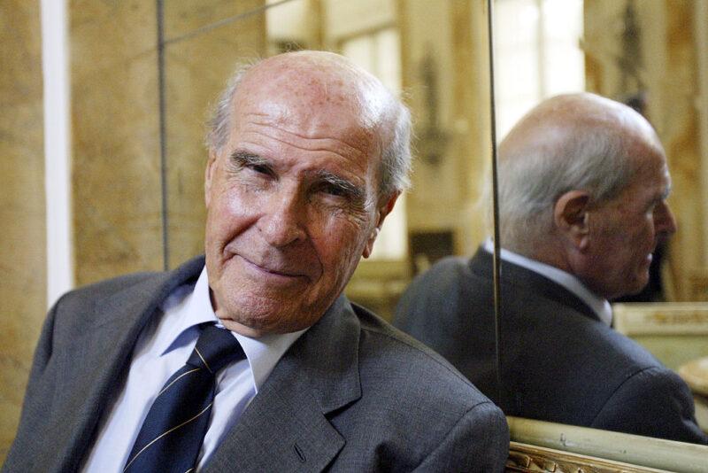 Umberto Veronesi, della fondazione Umberto Veronesi