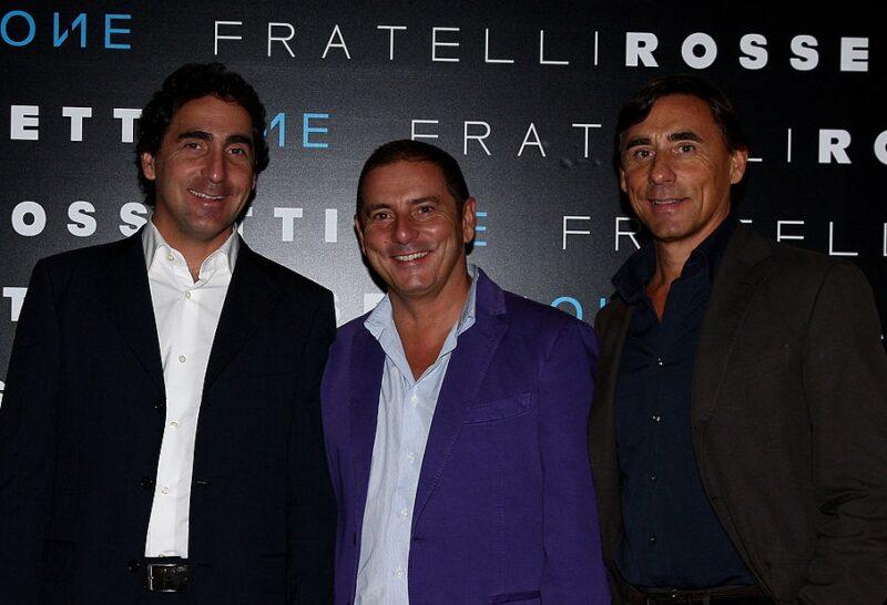 Fratelli Rossetti: Luca Rossetti, Diego Rossetti e Dario Rossetti