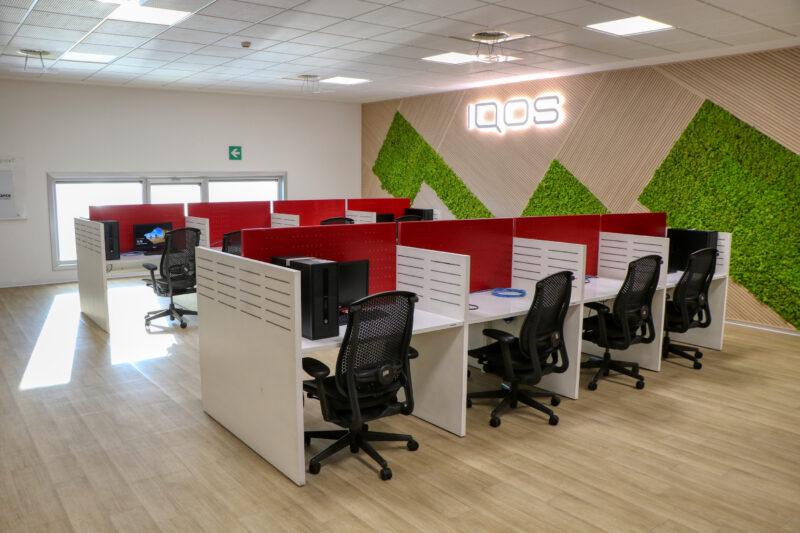 Philip Morris Digital Information Service Center a Taranto