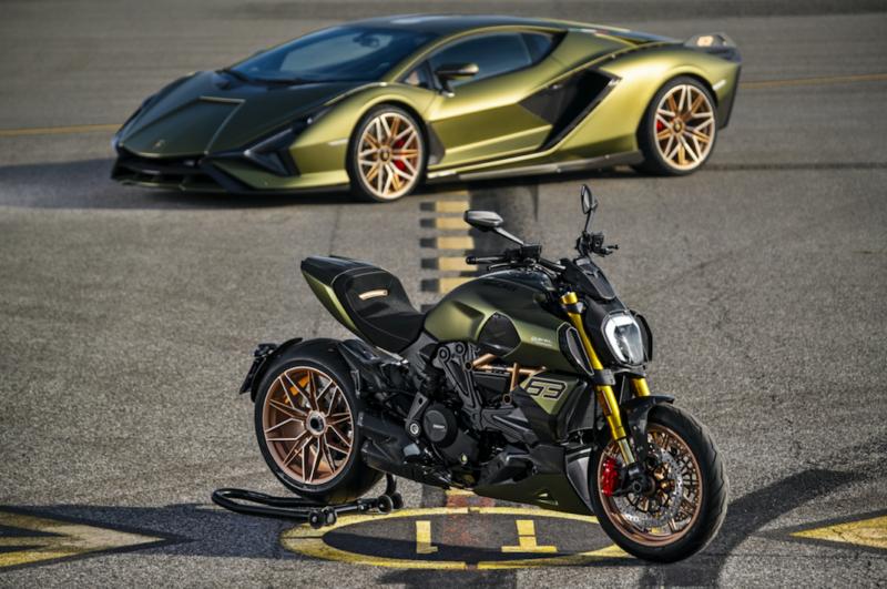 Ducati Diavel 1260 Lamborghini: quando auto e moto si fondono
