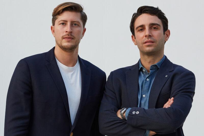 Felice Biancardi e Tommaso Guerra, co-fondatori di Golee