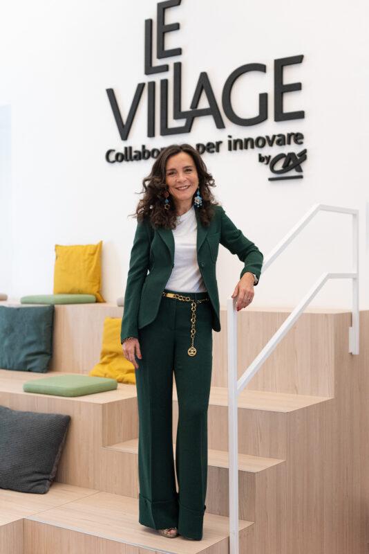 Gabriella Scapicchio, sindaco di Le Village by CA