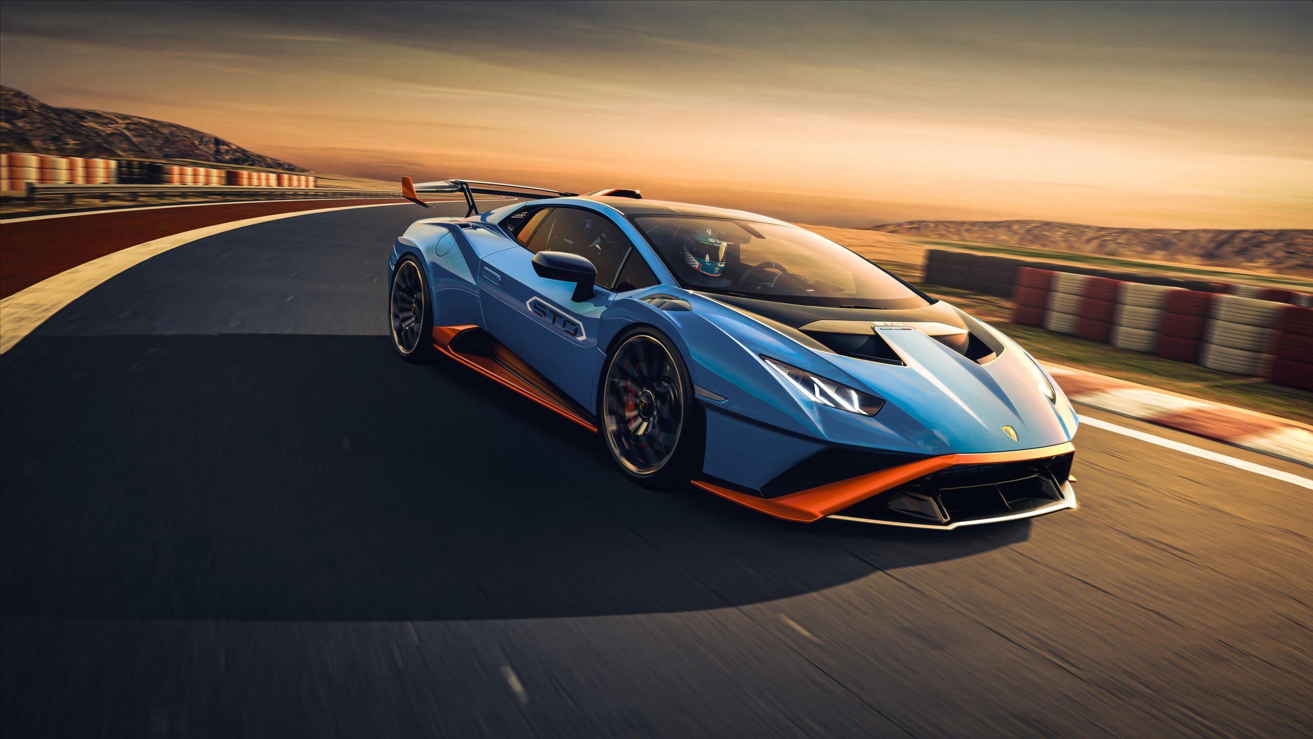 La Lamborghini Huracan Sto