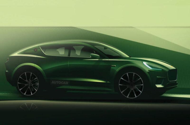 Il rendering di Autocar della nuova suv di Lotus