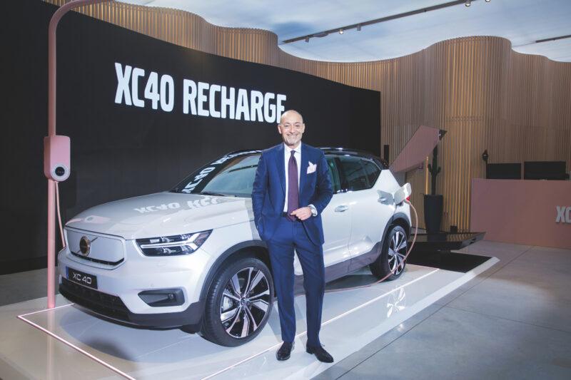 Michele Crisci, presidente di Volvo Italia