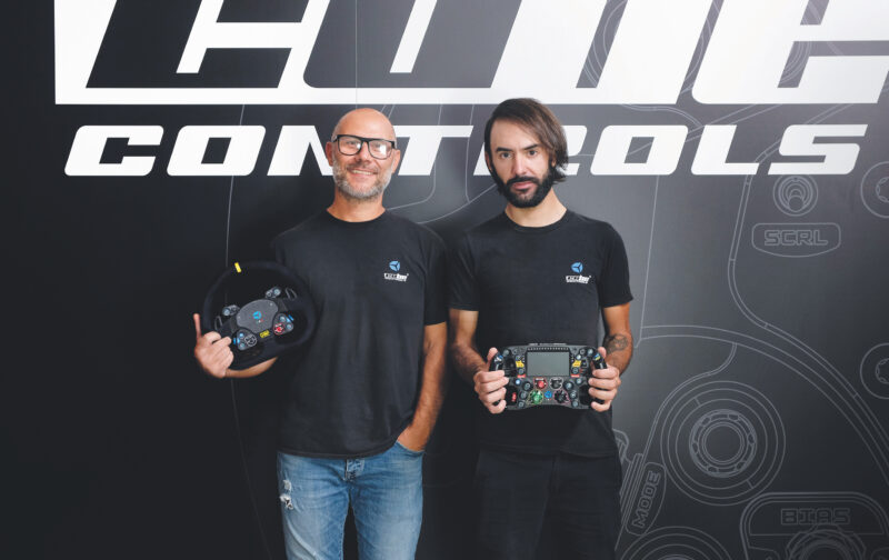 Da sinistra, Fabio Sotgiu e Massimo Cubeddu, co-founder di Cube Controls