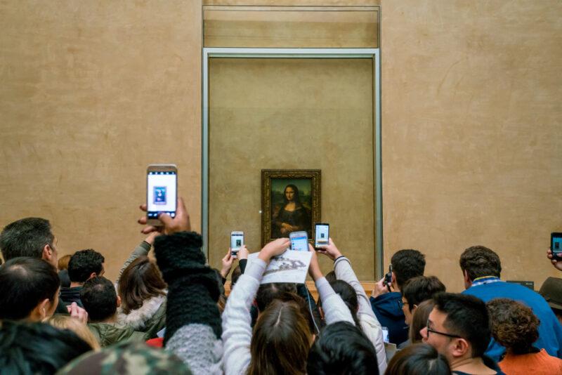 La Gioconda di Leonardo al Louvre
