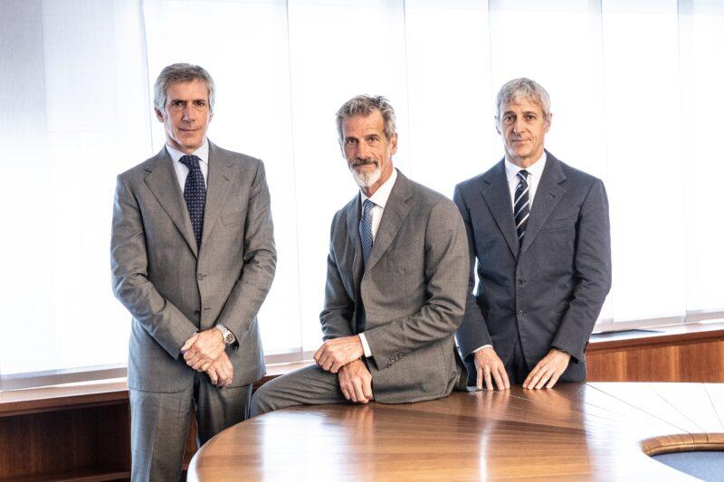 Paolo, Guido e Luca Barilla